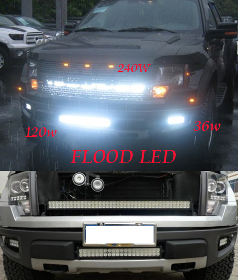 180W 13500LM 60' led work light bar For off road Jeep SUV UTE Mine driving lamp 6000K 12V/24V