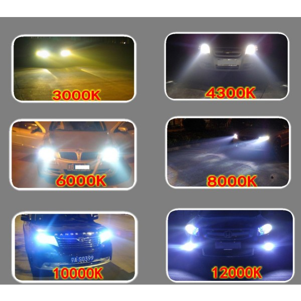 35W AC HID Kit Bi Xenon H4 H13 9004 9007 9008 12V