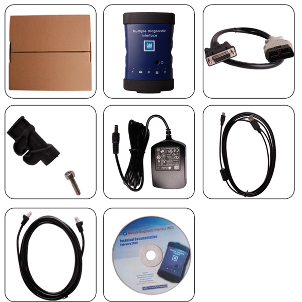 GM MDI gm mdi diagnostic interface with original chip best quality