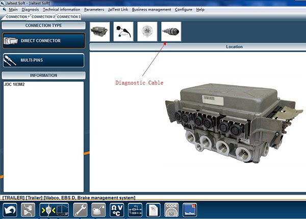 ialtest Link Code Reader For Paccar Peterbilt Kenworth Freightliner Sterling Westernstar International Mack Renault Hino Trucks