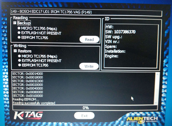 k-tag 2.13 firmware 6.070 support EDC17 MED 17