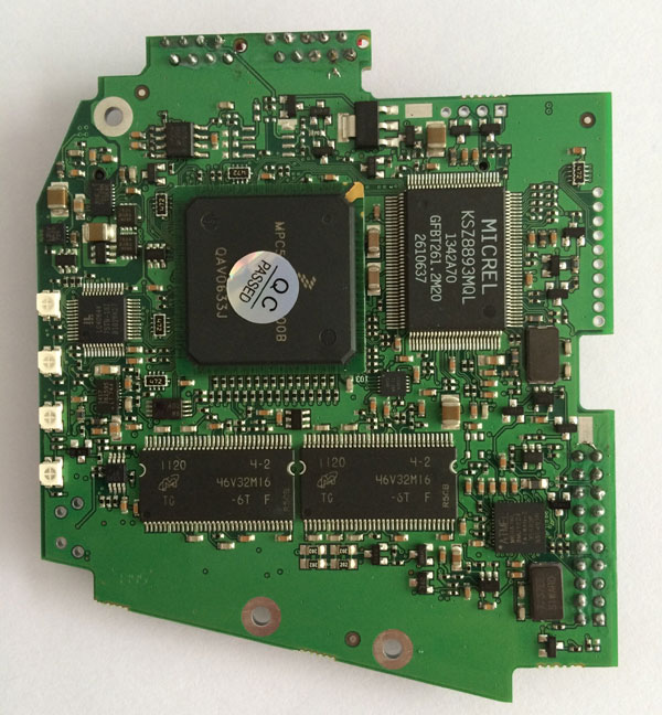 BMW ICOM PCB board display