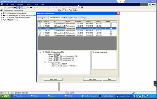 VOLVO Intermediate Storage File ENCRYPTOR/DECRYPTOR (EDITOR) Works with VOLVO Vocom