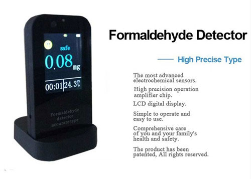 Hand-held Mini Portable Precision Formaldehyde Monitor/Multi AIR Detector