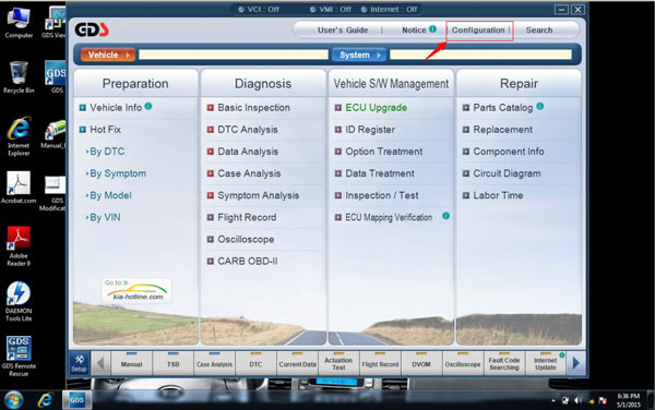 Newest V2 14 GDS VCI Software for Hyundai & KIA Stored in 550G SATA Format  HDD
