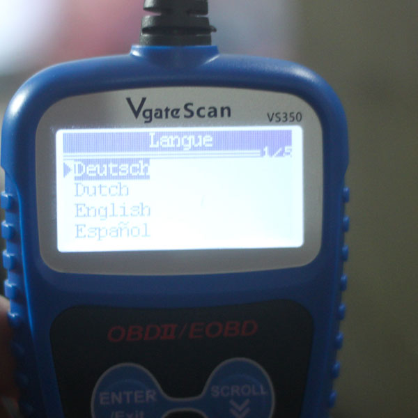 Vgate VS350 CAN BUS OBDII Code Reader