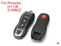 Remote key 4+1buttons 315MHZ after market for Porsche Cayenne