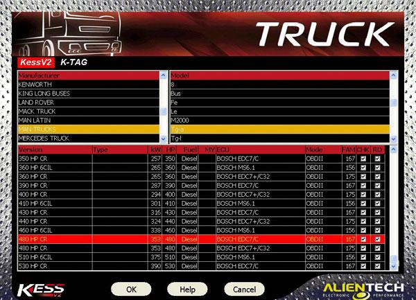 kess v2 truck