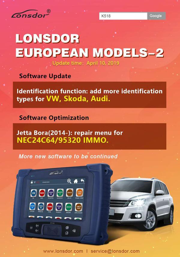 Lonsdor K518ISE Key Programmer Plus SKE-LT Smart Key Emulator 4 in 1 Full  Package Free Shipping