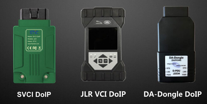 SVCI DOIP VS JLR VCI DOIP VS DA-DONGLE DOIP