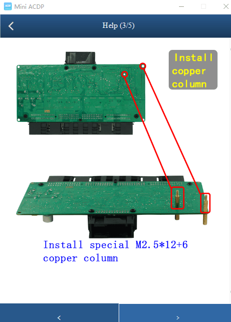 Yanhua BMW Mini ACDP FRM Footwell Module 0L15Y 3M25J Chip Read/Write