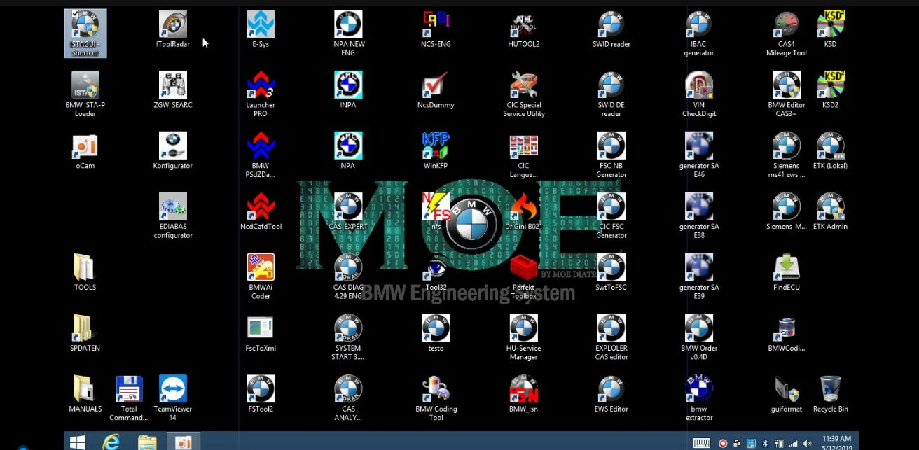 MOE BMW Engineering System 60 BMW Software All-in-One 500GB