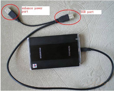 benz mb star c3 external hdd usage