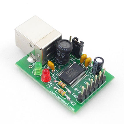 USB-to-serial-UART-FTDI-interface-Board
