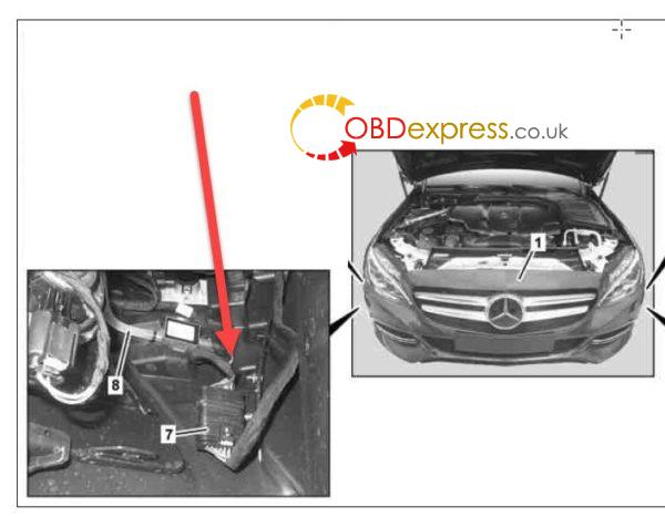 (Solved) Mercedes W205 C220 front parking sensors not working