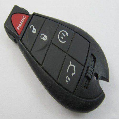 4+1 5 Button 433MHZ Smart Remote Key for Chrysler