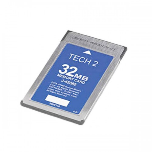 32MB CARD FOR GM TECH2 with Suzuki software Only