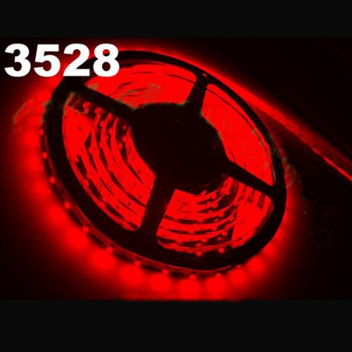 New 5m Waterproof Red White SMD 3528 Flexible 300 LED Strip