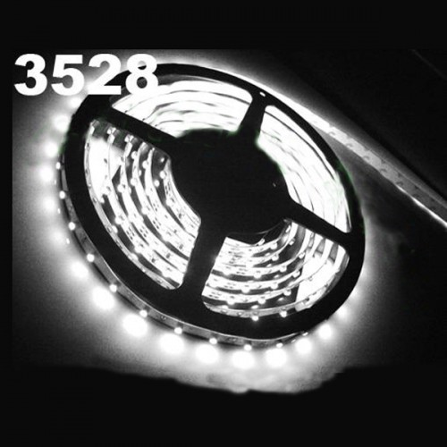 New 5m Waterproof White SMD 3528 Flexible 300 LED Strip