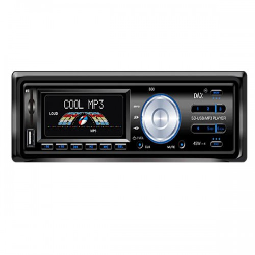 1*In-dash 1Din Car Audio Player With USB Port-SD Card Reader-Radio-MP3 DVD064