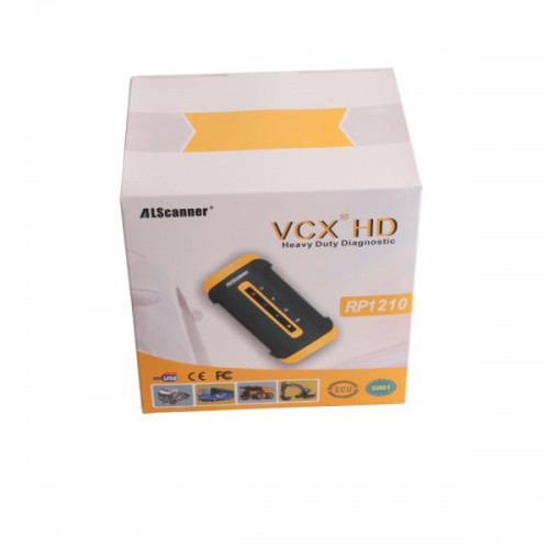 Allscanner VCX HD Heavy Duty Truck Diagnostic System for CAT VOLVO HINO Cummins Nissan