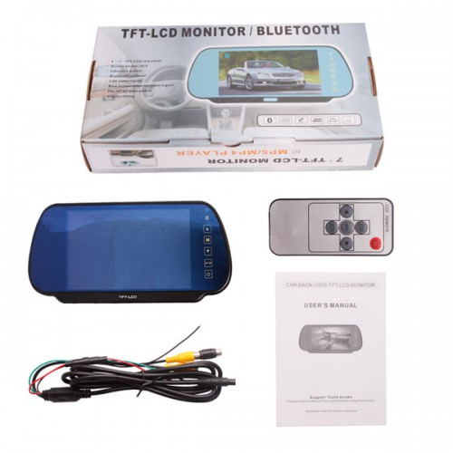 "Video Parking Sensor With Camera and 7"" TFT Monito"