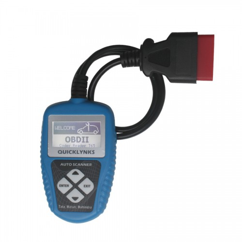 QUICKLYNKS Auto Scanner for Indian cars T65