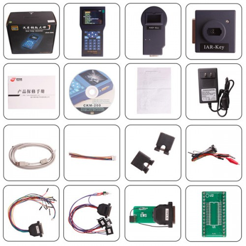 Car Key Master Handset CKM200 with Unlimited Tokens for Benz and BMW choose SP78-B or CKM100