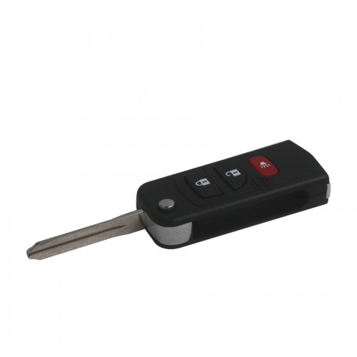 New Flip Remote Key Shell 3 Button for Nissan 5pcs/lot