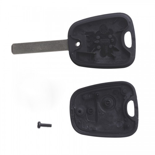 Remote Key Shell 2 Button (without groove) for Citroen 10pcs/lot