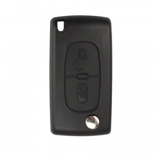 Flip Remote Key Shell 2 Button for Citroen (Without Battery Location) 5pcs/lot
