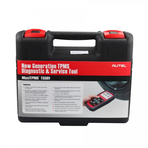 Autel MaxiTPMS TS501 TPMS DIAGNOSTIC AND SERVICE TOOL Free update online