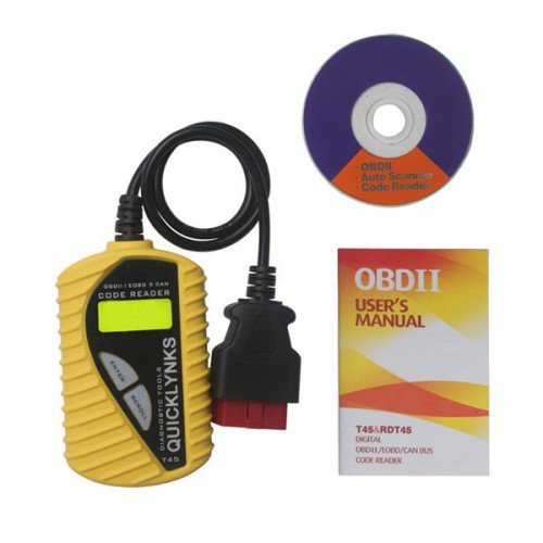 QUICKLYNKS CAN OBD2 EOBD code reader T45 (multilingual) for V-A-G Group