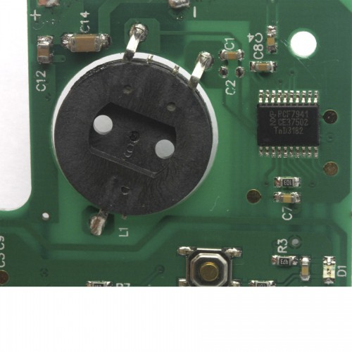 Remote Board 2 buttons 433MZH For Renault Laguna