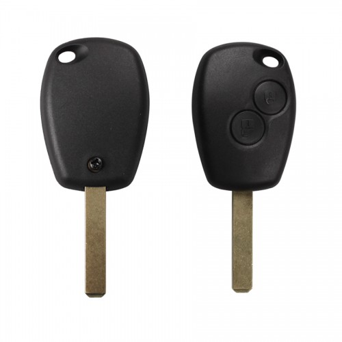2 Button Remote Control Key 433MHZ 7947 Chip For Renault