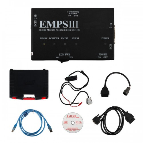 EMPSIII diagnostic and Programming Plus for ISUZU with Dealer Level