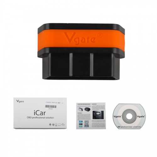 2014 Newest Vgate iCar 2 WIFI version ELM327 OBD2 Code Reader iCar2 for Android/ IOS/PC