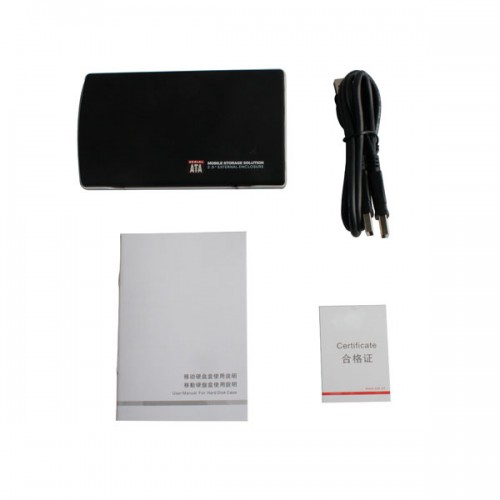 120G External Hard Disk with SATA Port only HDD without Software