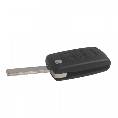 Remote Key Shell 3 Button HU83 3B for Citroen (with groove) 5pcs/lot