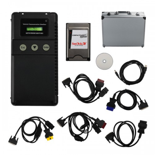 Factory Price Mitsubishi MUT-3 Diagnostic and Programming Tool with TF Card for cars and trucks