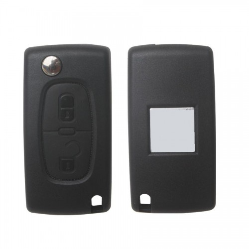 2 Button 433MHZ HU83 for Citroen Remote Key ( with groove)