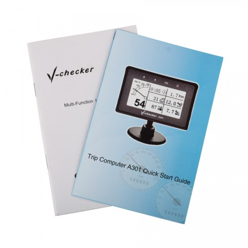 V-CHECKER A301 Multi-Function Trip Computer Multi-language
