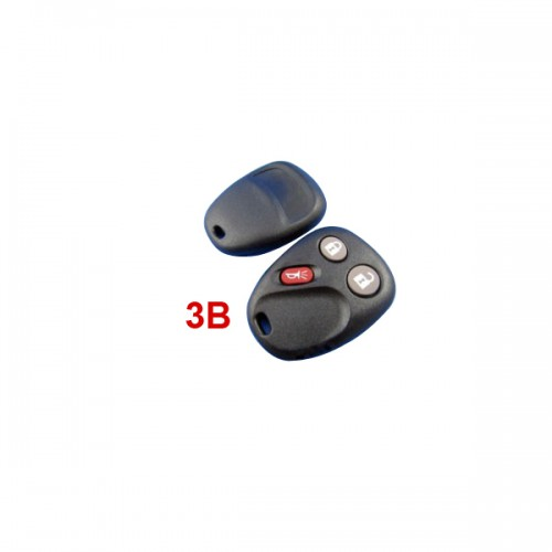 Remote Shell 3 Button for Buick 5pcs/lot