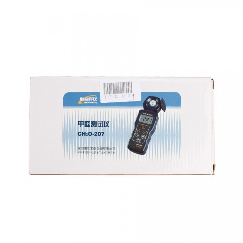 SM207 Portable Formaldehyde Gas Detector Meter Indoor Air Quality Tester