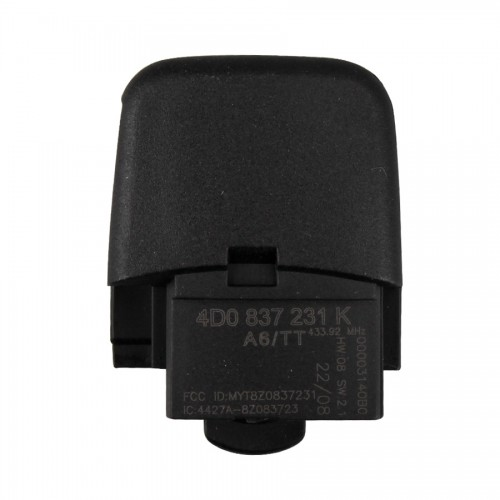 3 Button 4DO 837 231 K 433.92Mhz For Europe South America for AUDI