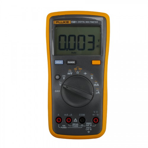Original NEW FLUKE 15B F15B Digital Multimeter W/ Free Case