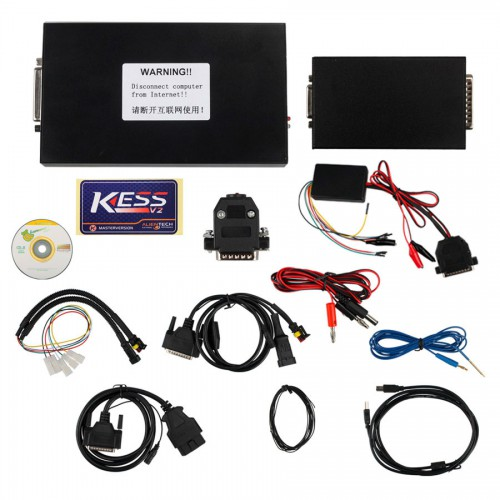 V2.37 KESS V2 with firmware V4.036 OBD2 Manager Tuning Kit master with 60 tokens