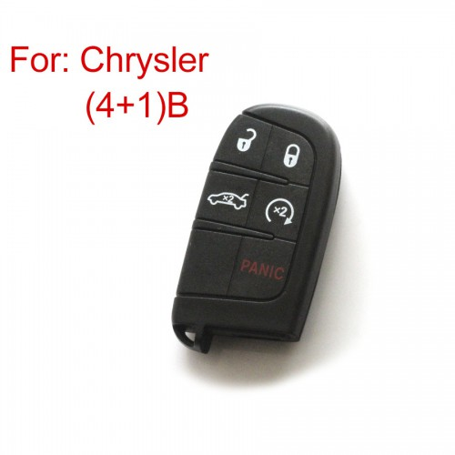 Remote Key Shell 4+1 Button 4th Type for Chrysler