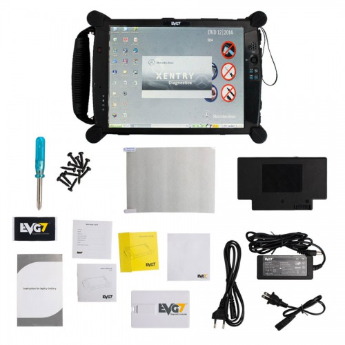 MB SD Connect Compact C4 with V2016.12 SSD plus EVG7 4GB Diagnostic Controller Tablet PC brand new
