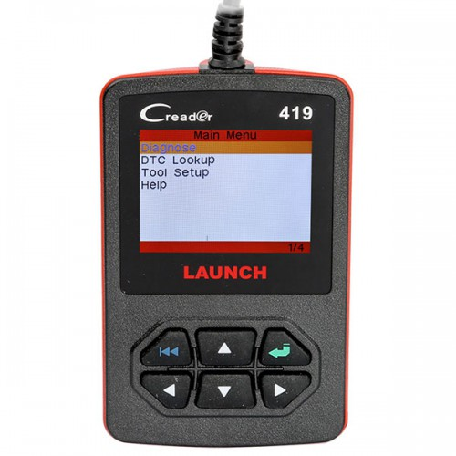 Free Update Online Launch CReader 419 DIY Scanner OBDII/EOBD Car Code Reader Diagnostic Scan Tool Free Shipping